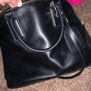 Black express purse